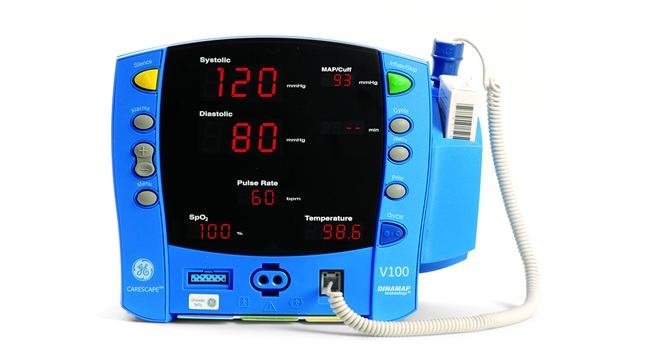 Ge Carescape V100 Dinamap Vital Signs Monitor From 163 1 249