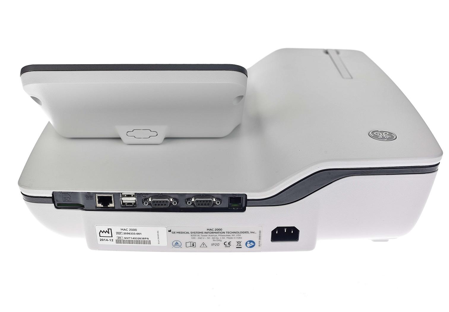 ge mac 2000 machine